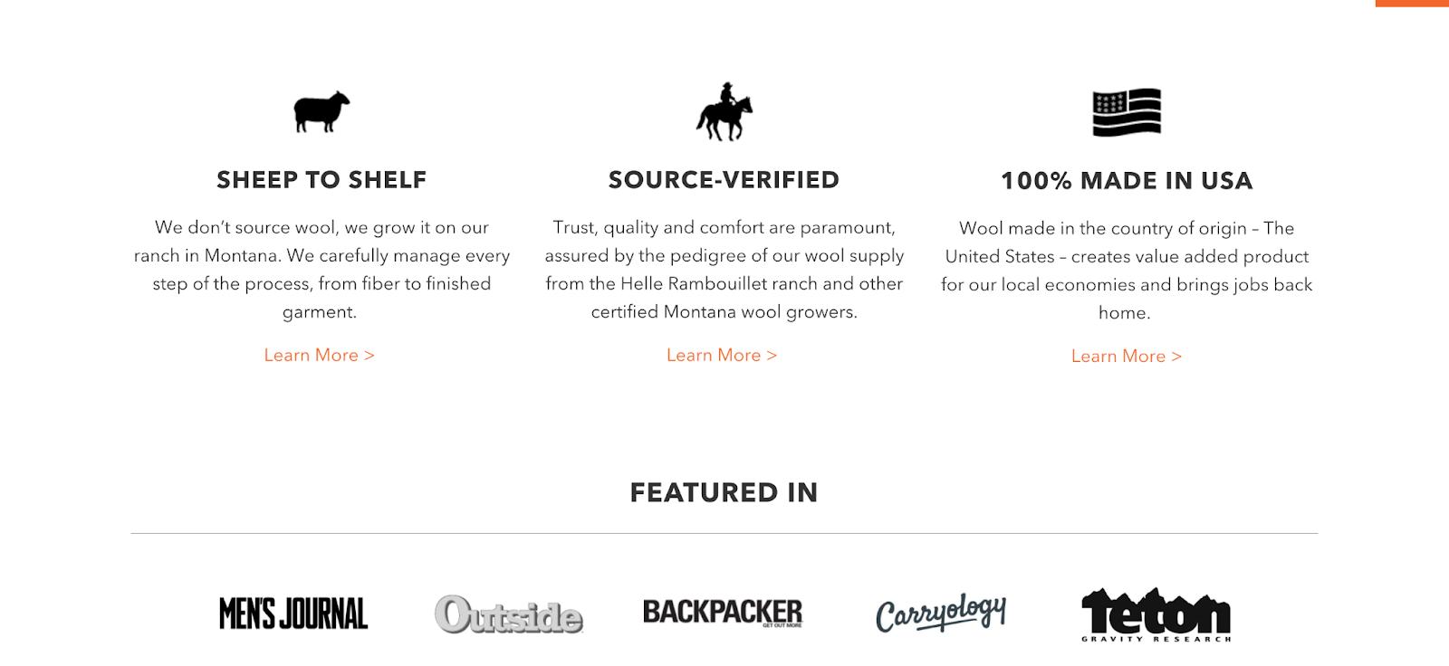 Best outdoor website designs: Duckworth