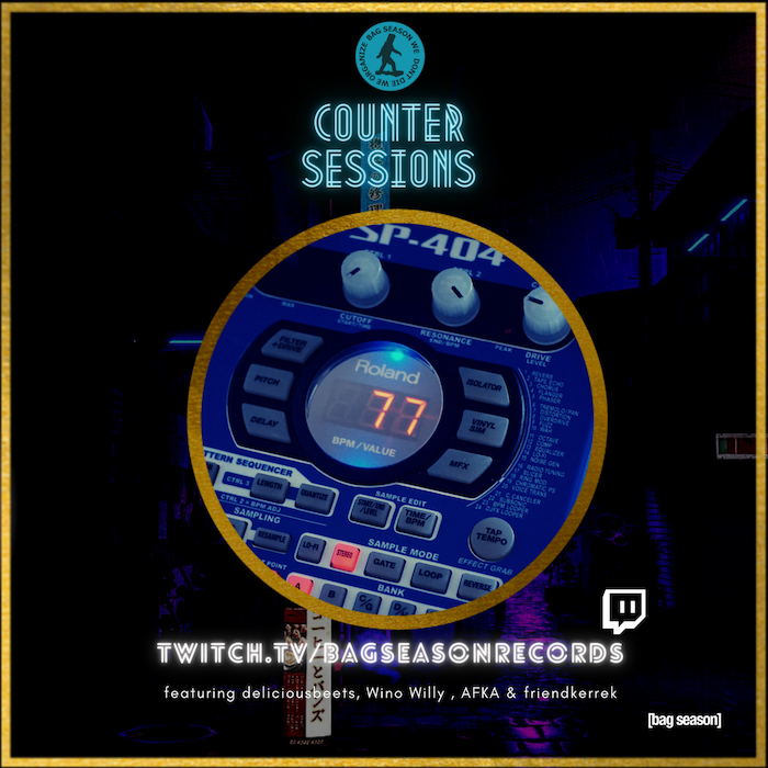 Counter Sessions: The Best Producer Showcase in Louisiana, Now on Twitch.