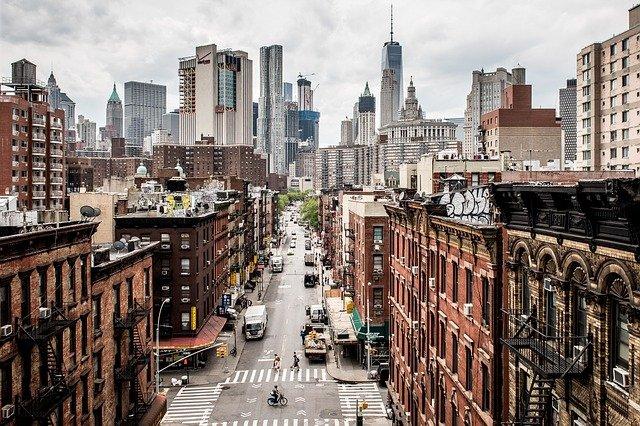 Manhattan, home to NYU stern school of business.