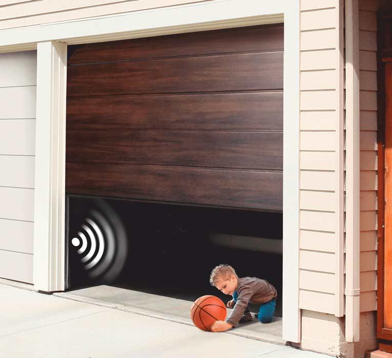 porte garage bois