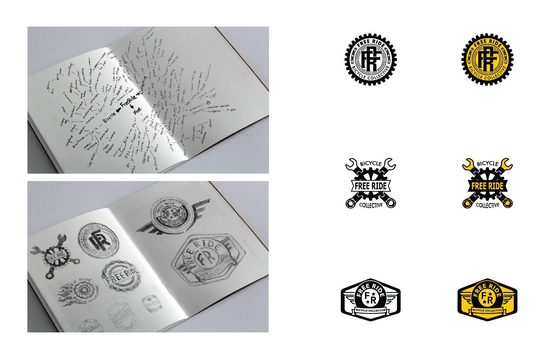 process of logo design