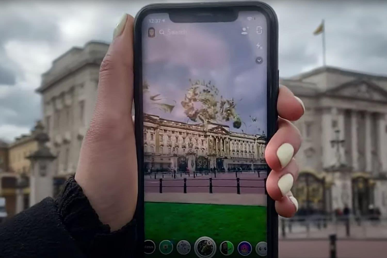 snapchat augmented reality news
