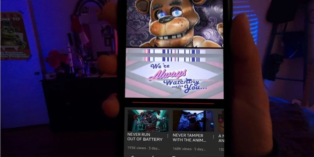 Friday Night At Freddy's Augmented Reality Game
