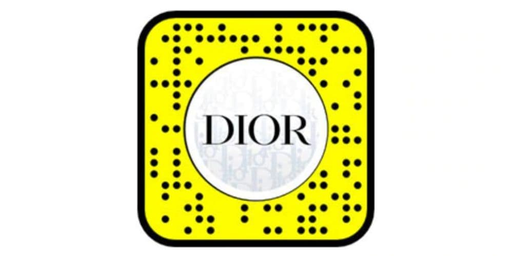 Dior and Snapchat Sneaker Try On