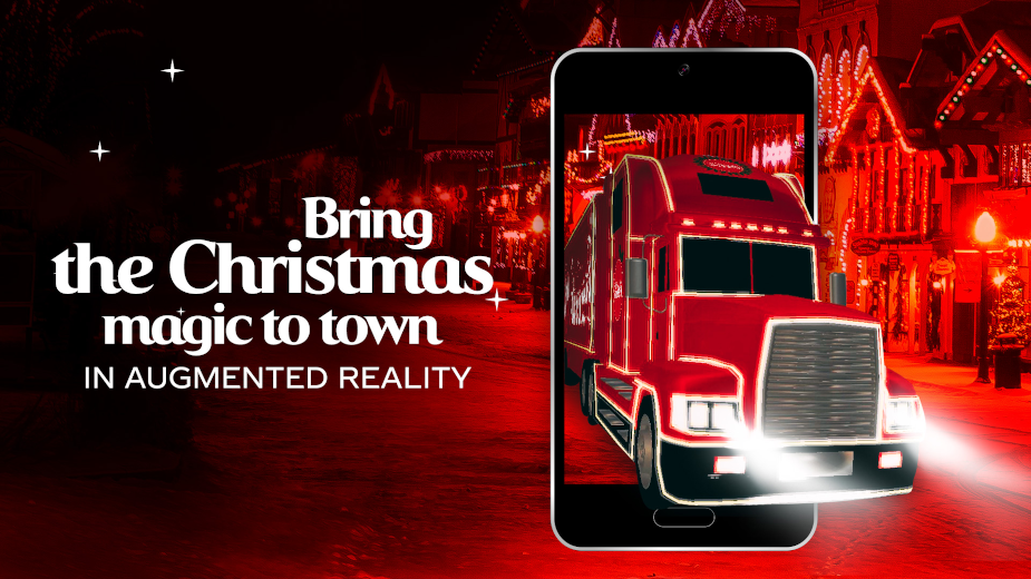 Coca Cola Christmas Truck AR
