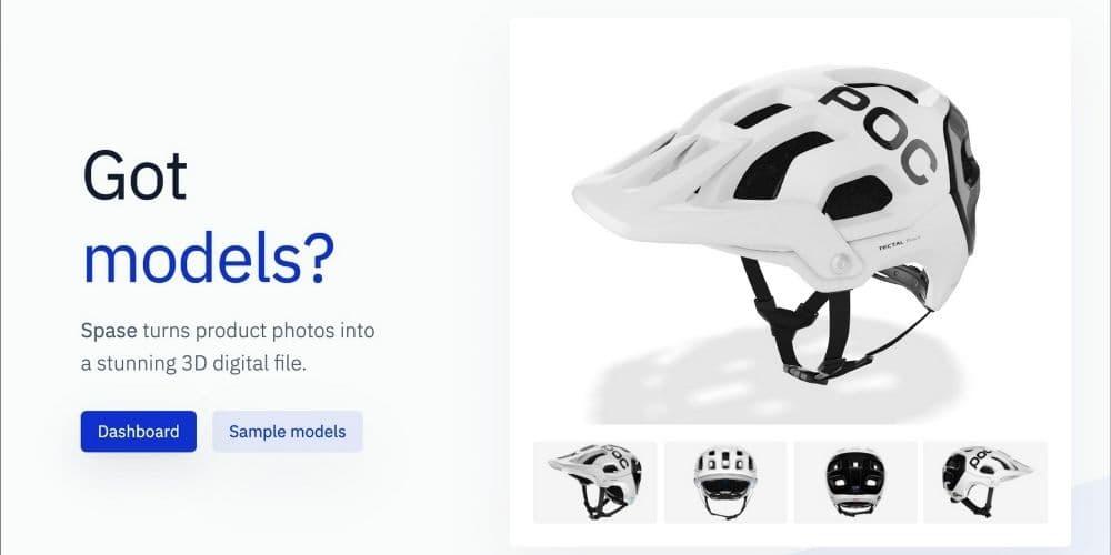 Spase 3D AR Models