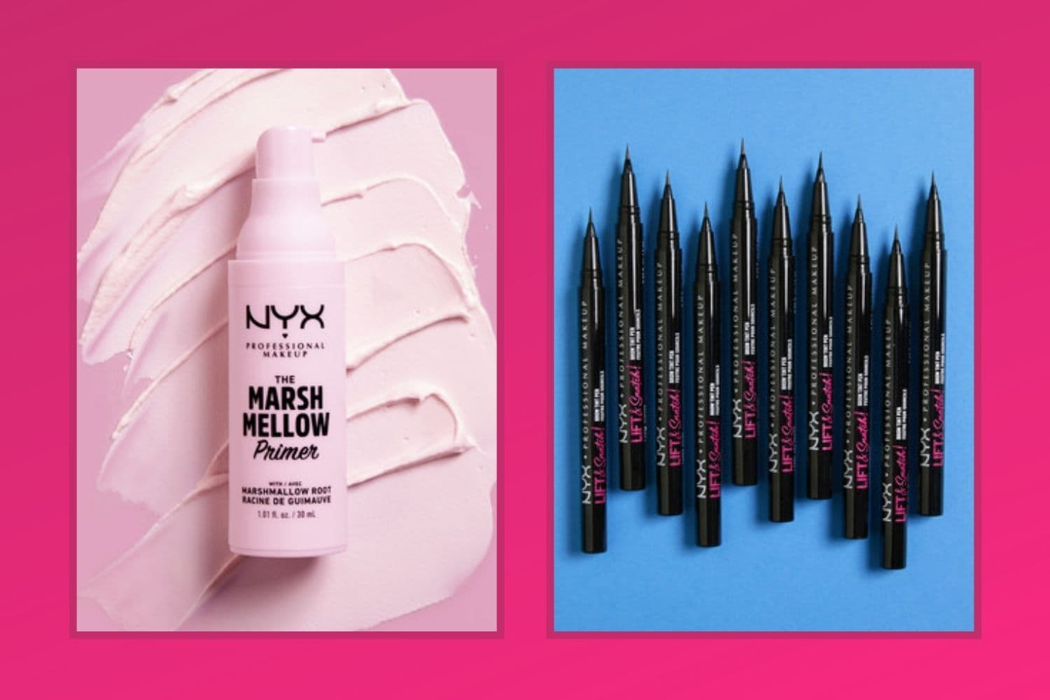 NYX Professional makeup try on Augmented Reality