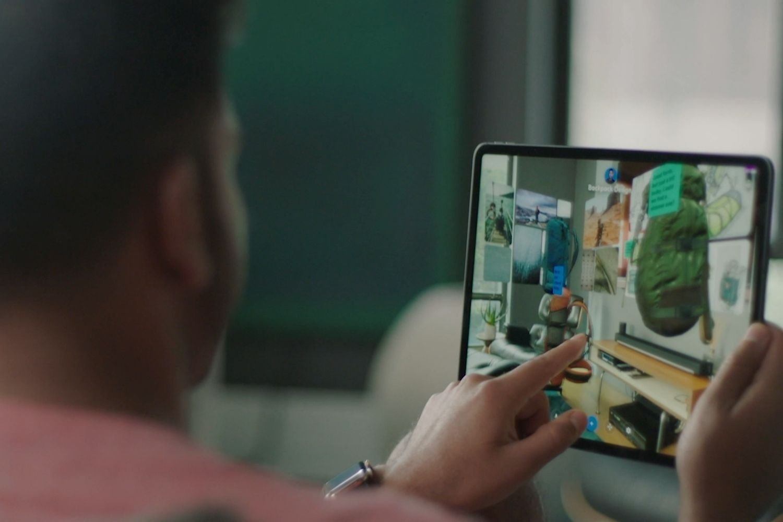 tablet social workspace