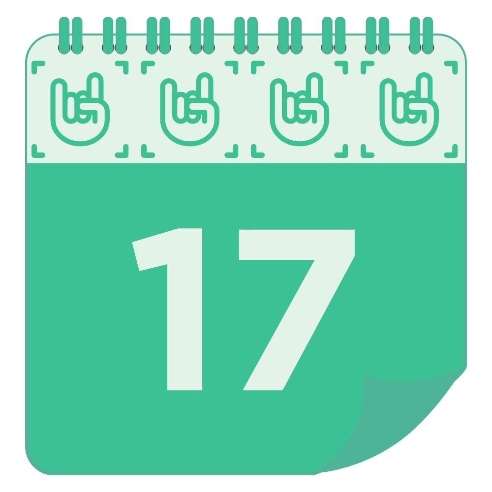 Thursday Calendar