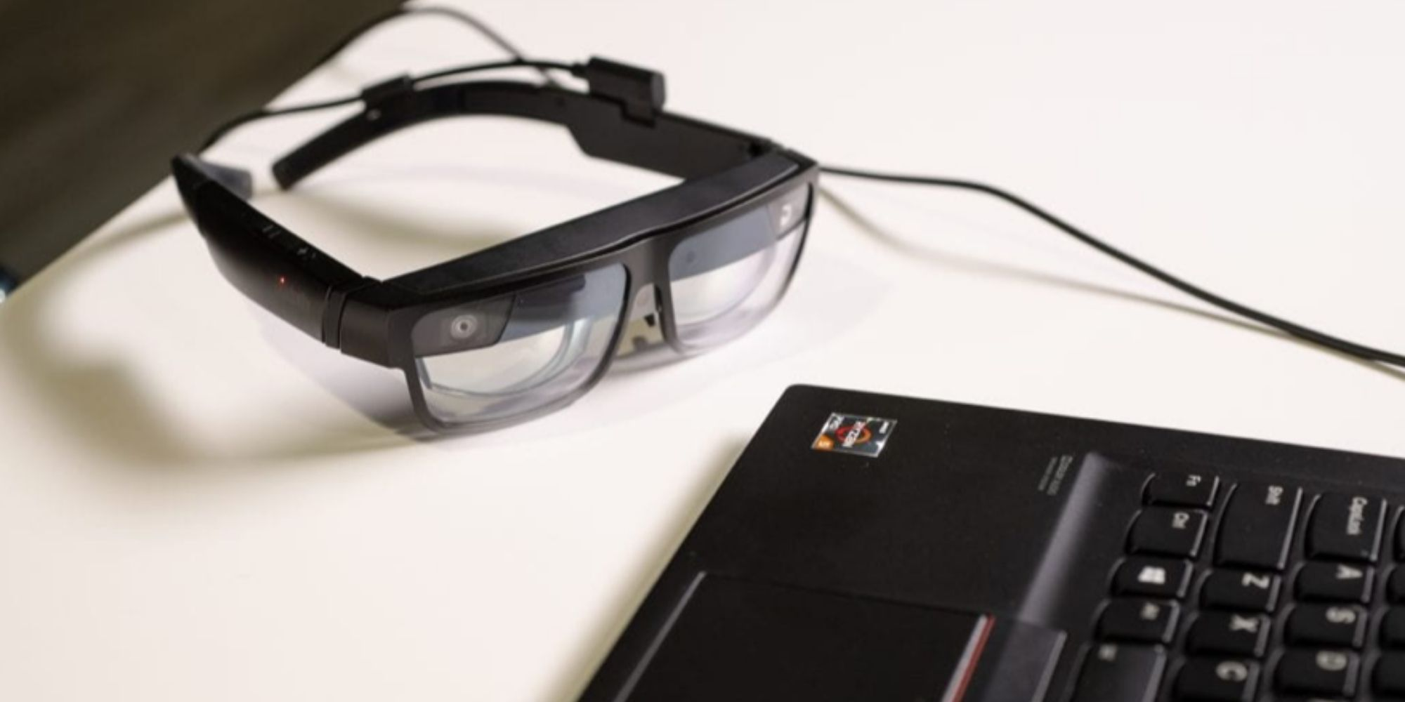 Lenovo Augmented Reality Glasses CES 2021