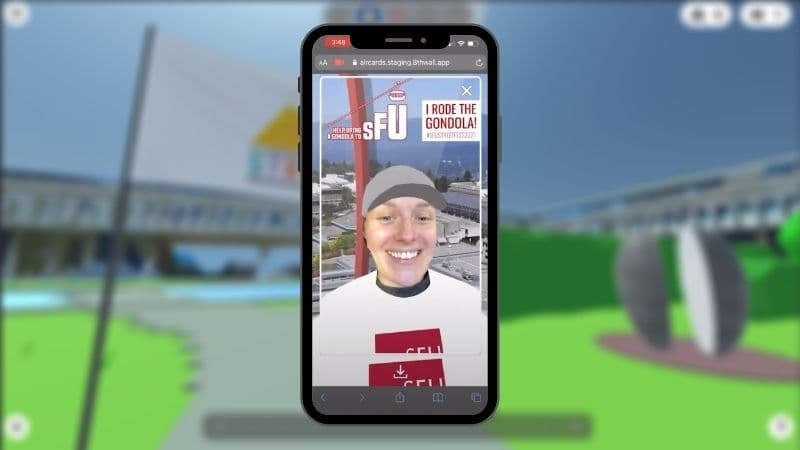 AR Selfies face filter