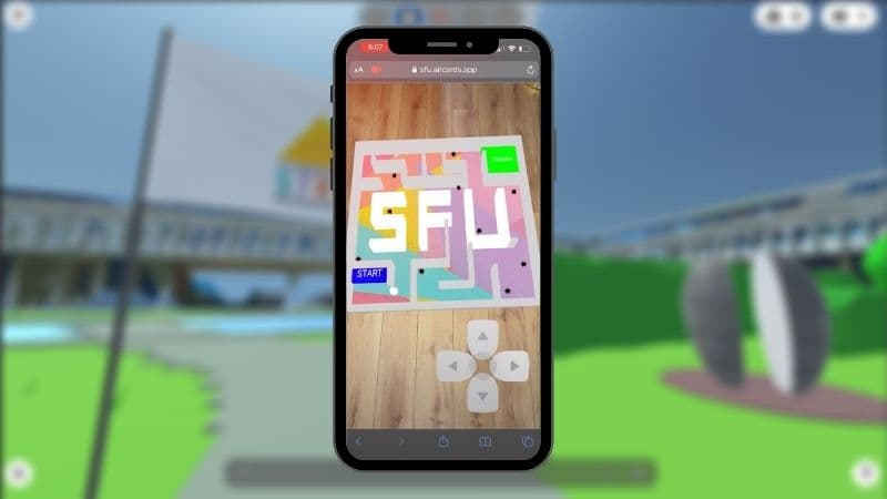 augmented reality maze games