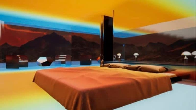 mars house augmented reality