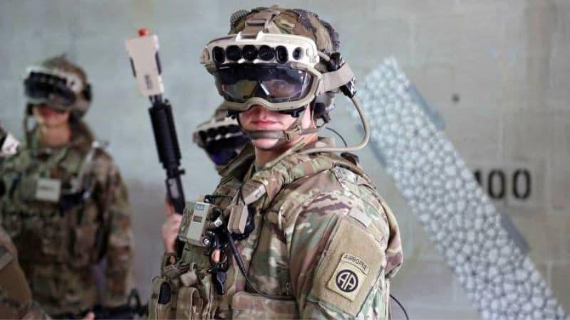 Microsoft AR Headset Army