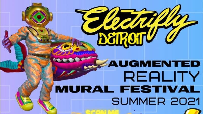 Detroit Augmented Reality Art Festival Launches For The Summer