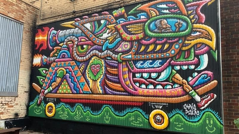 Electrifly Detroit Augmented Reality Mural Festival