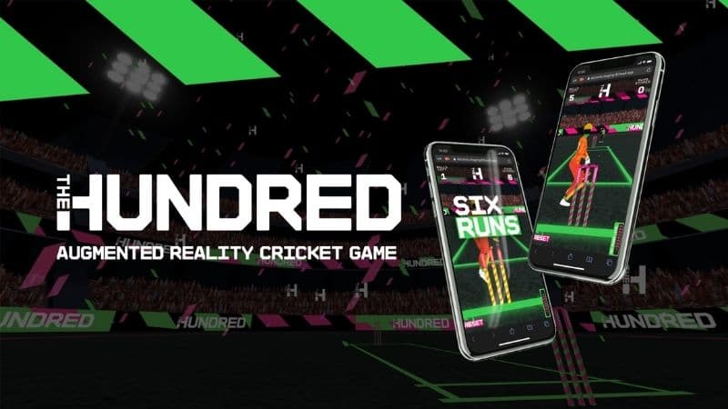 The Hundred Promotes Competition With An Industry First Augmented Reality Cricket Game