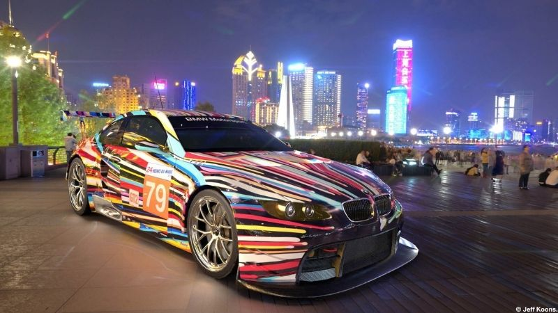 See BMW Art Cars with Augmented Reality