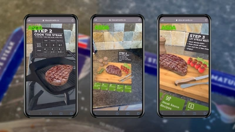 Augmented Reality Cooking Demonstration
