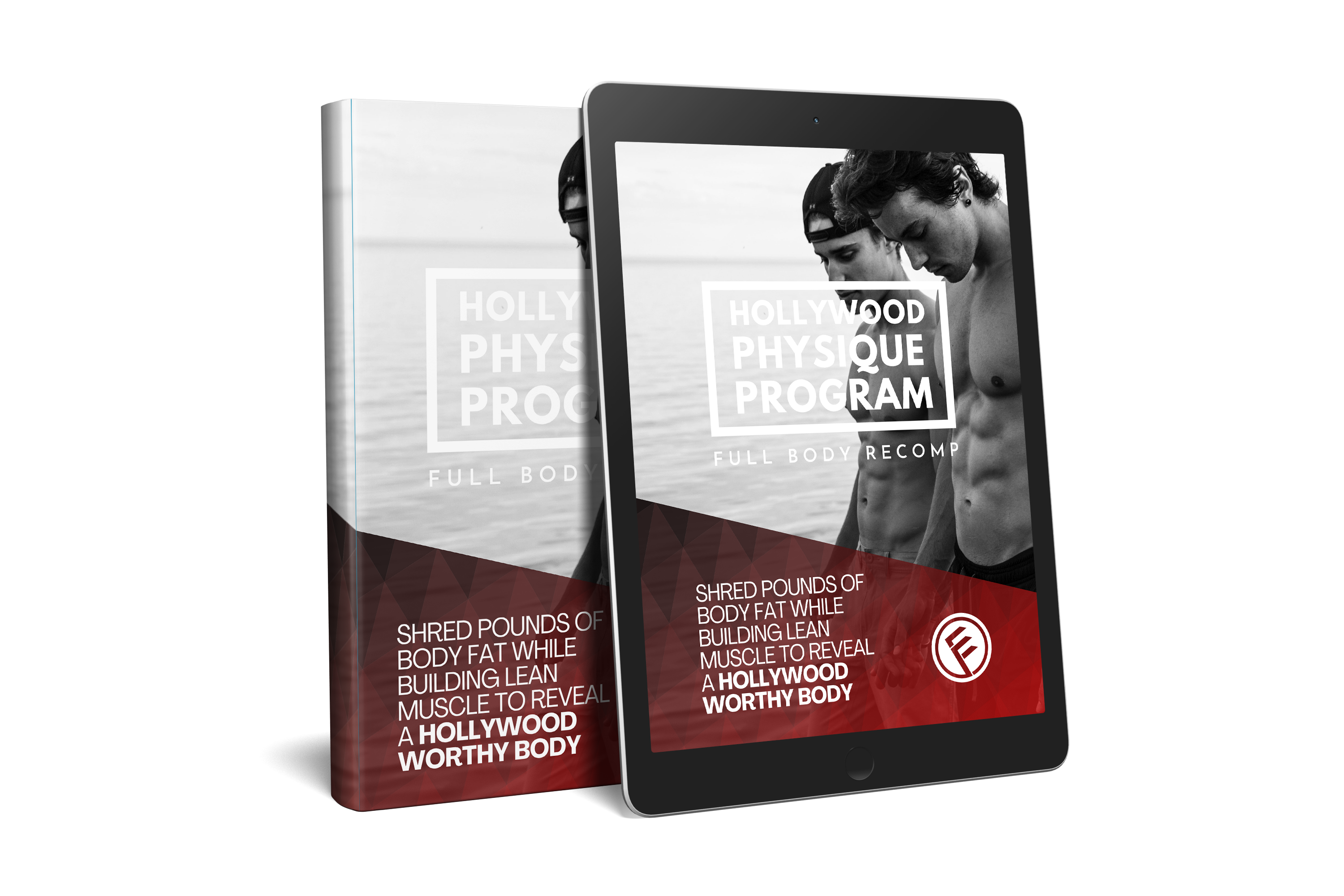 The Hollywood Physique Program cover by Everfit.