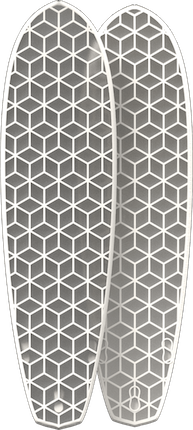 Picture of a surfboard HEXA DIAMOND