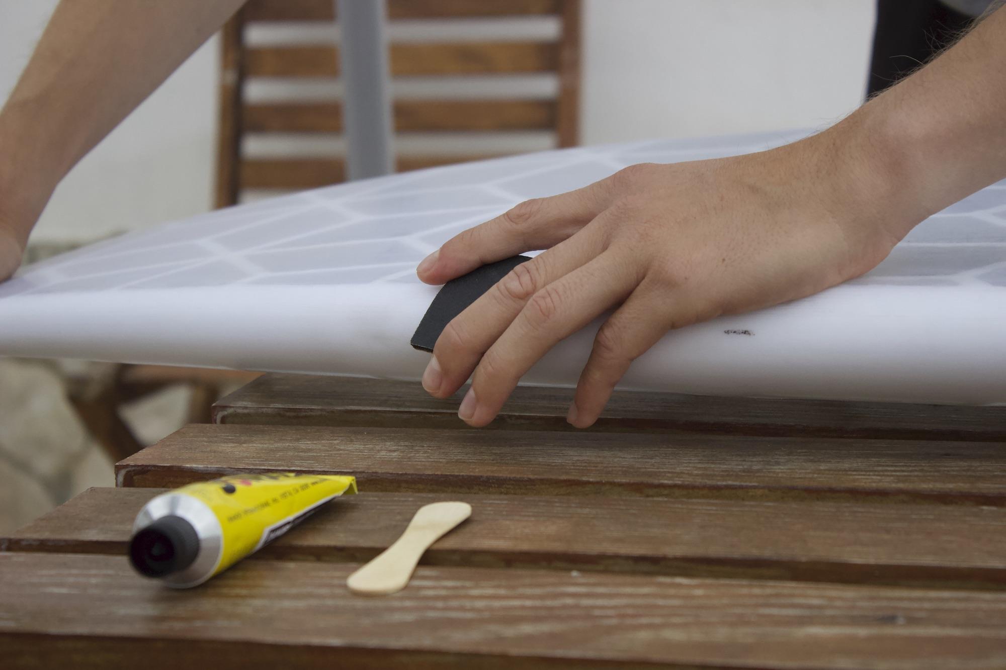 Fixing your HEXA surfboard in 10 minutes