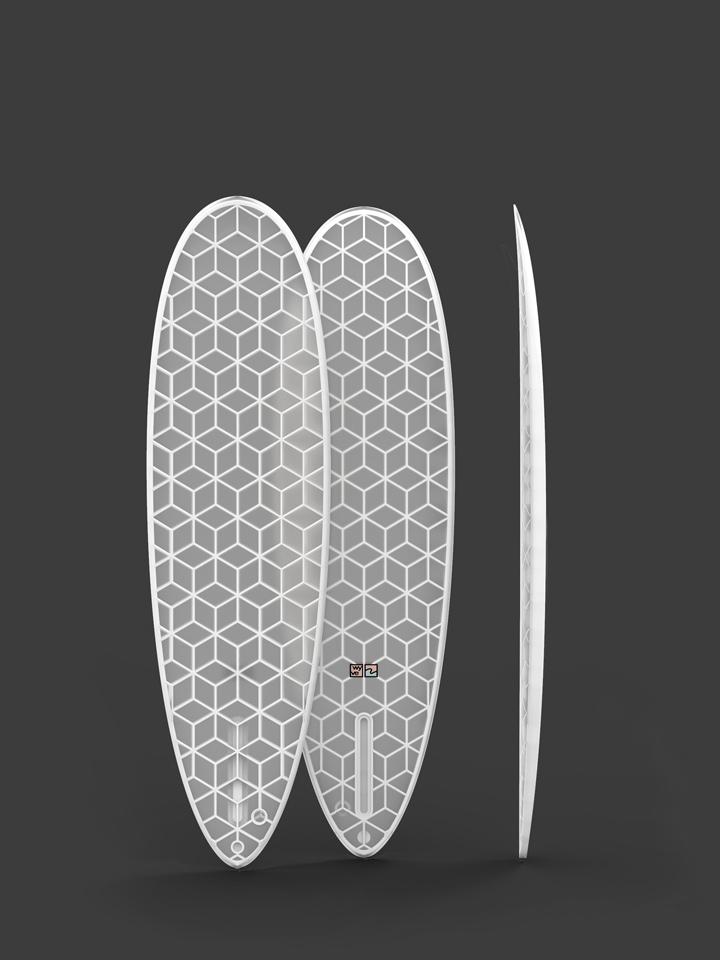 wyvesurf hexa surfboard eggy