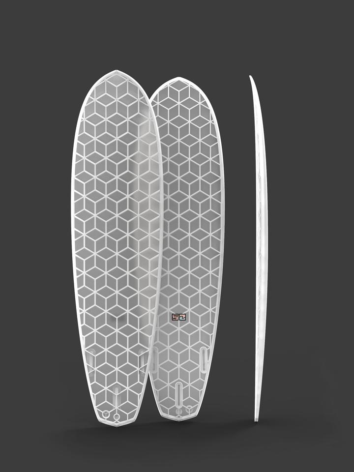 wyvesurf hexa surfboard diamond