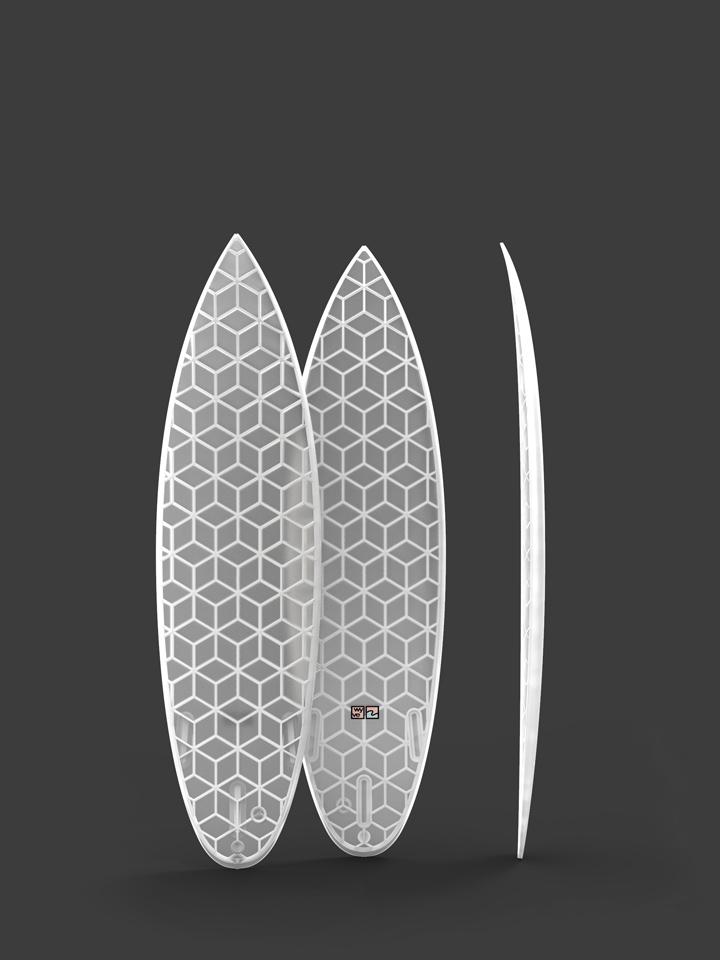 wyvesurf hexa surfboard traveller