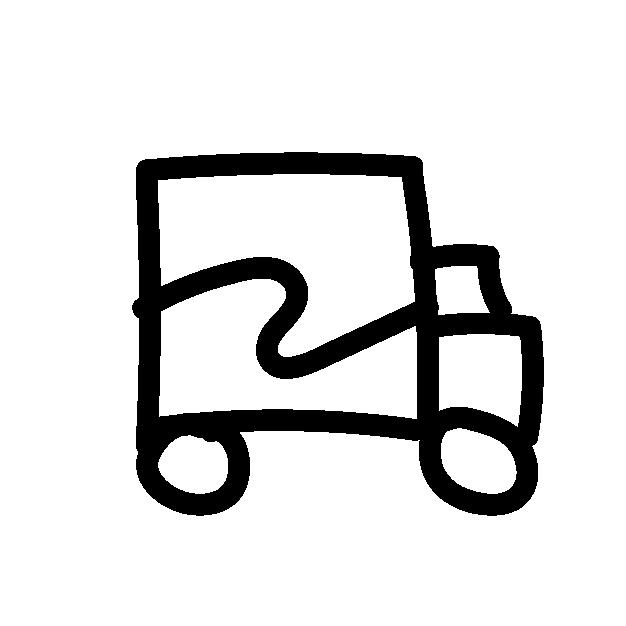 A truck with Wyvesurf logo
