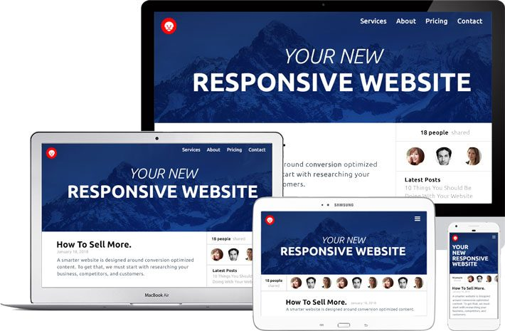 Your website should look great no matter the device you use.