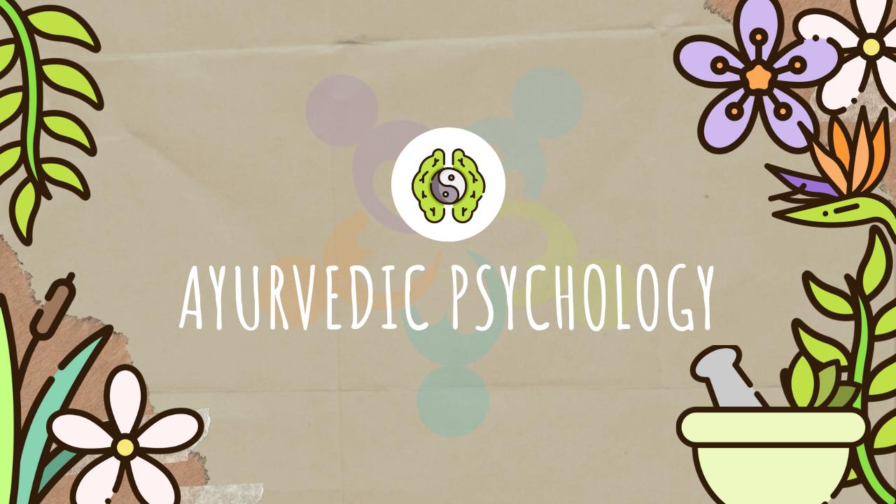 ayurvedic psicology