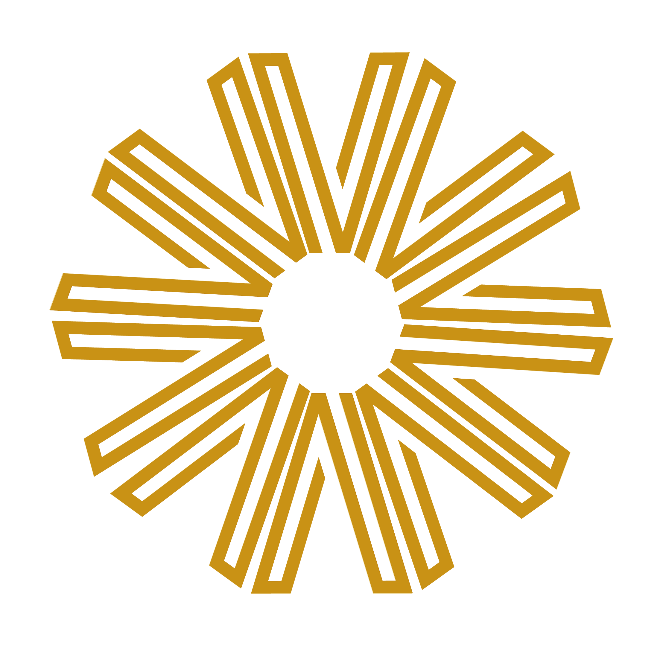 Spinning Varoom Iris image in gold