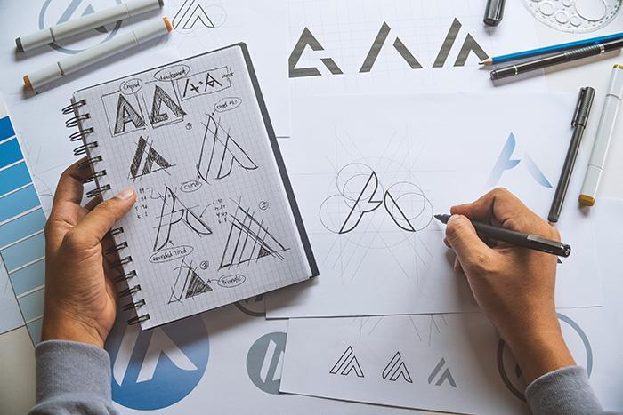 Designer font creation image