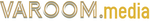 Varoom logo in gold