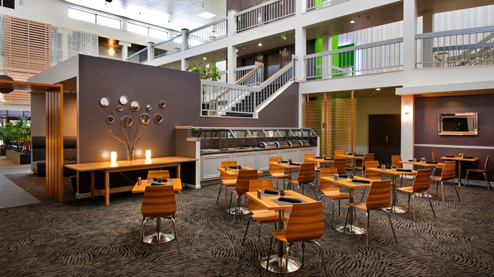 Domain Hotel lobby area