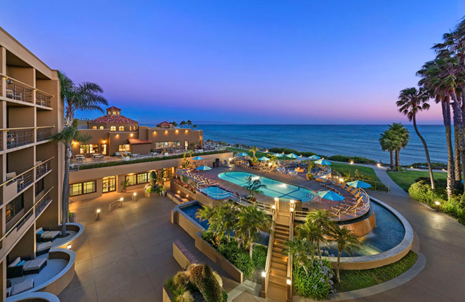 Generic hotel resort