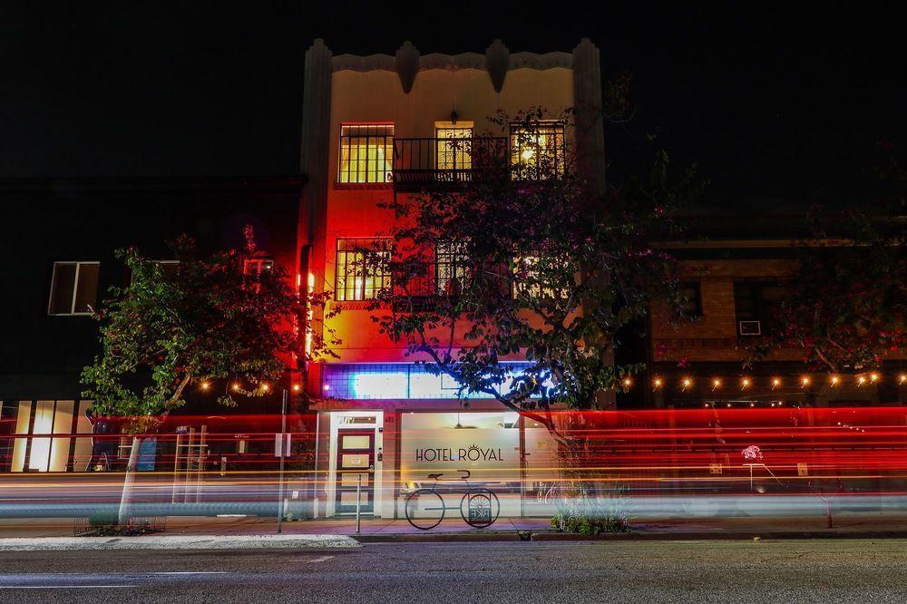 Hotel Royal Long Beach front entrance
