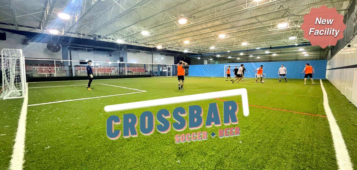 Crossbar Indoor Soccer Fields in Richardson Dallas Texas
