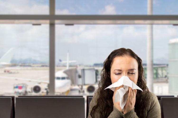 sick traveler