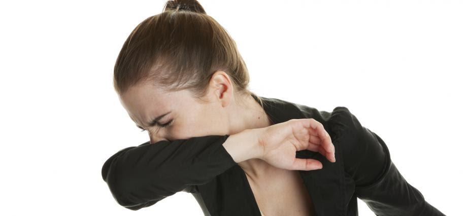 elbow cough