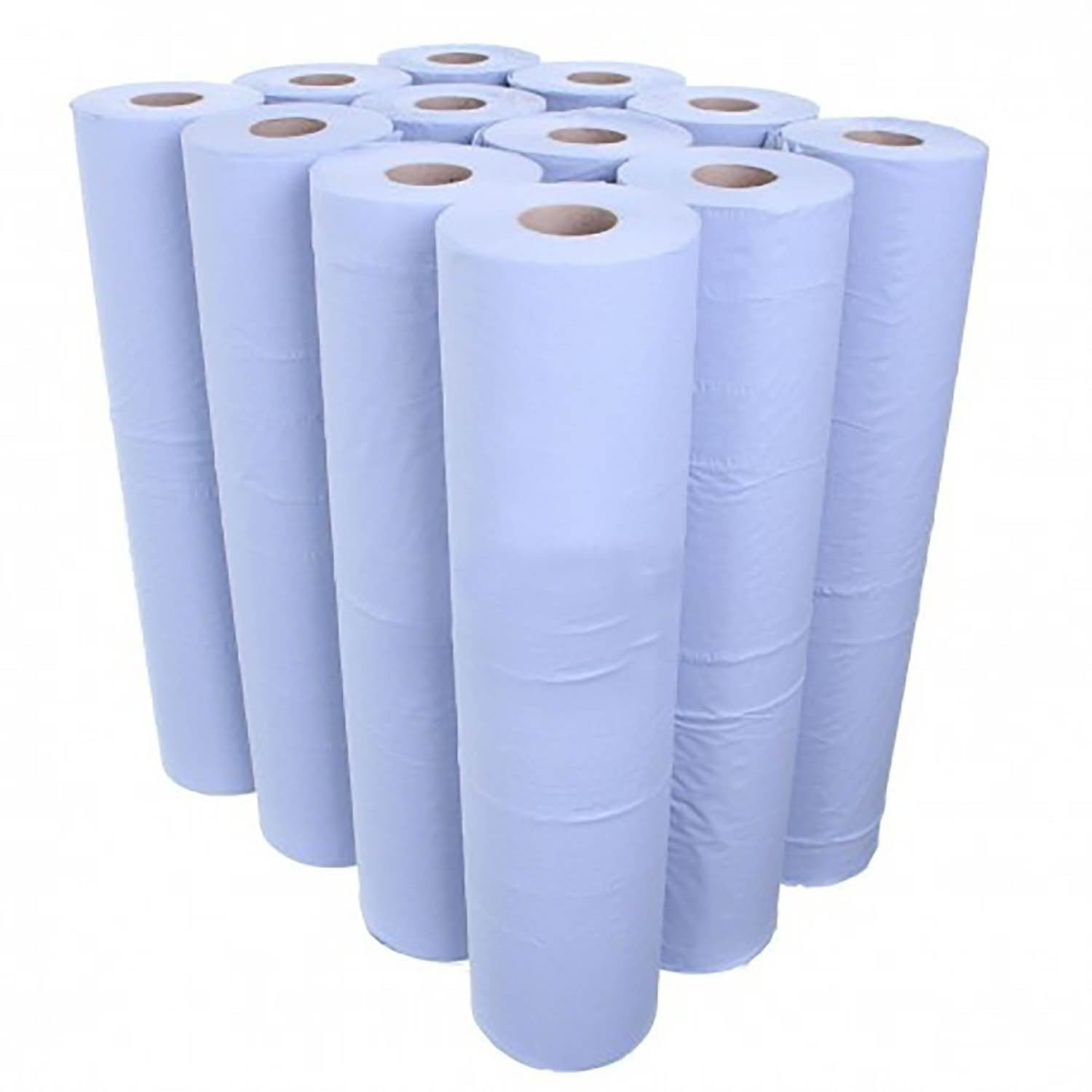 """Hygiene / Couch roll Blue 20"""" No Plastic"""