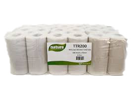 200 Sheet Toilet Tissue Recycled