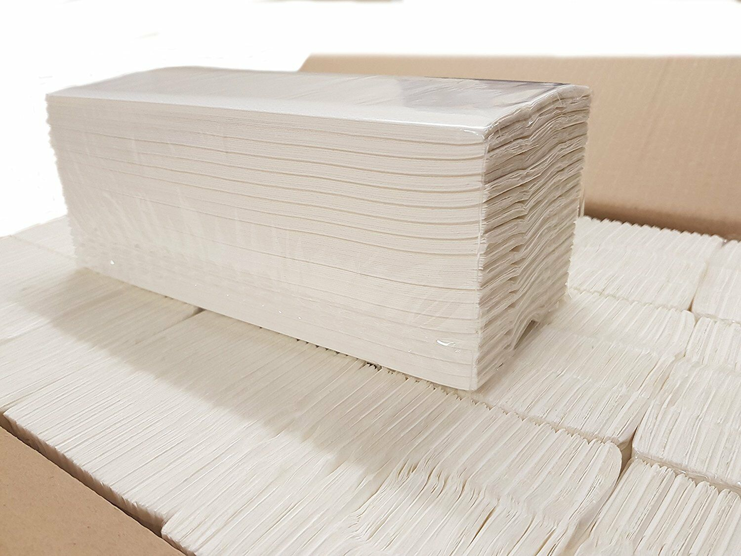 Luxury White 2ply Z Fold Paper Hand Towels