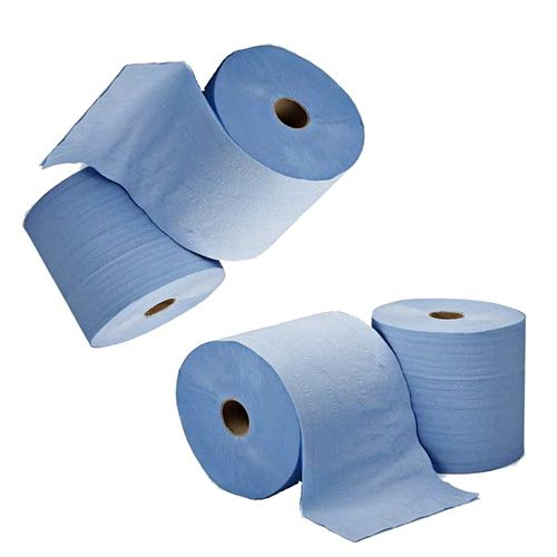2 Ply Blue 150m Centrefeed-Embossed 12 Pack