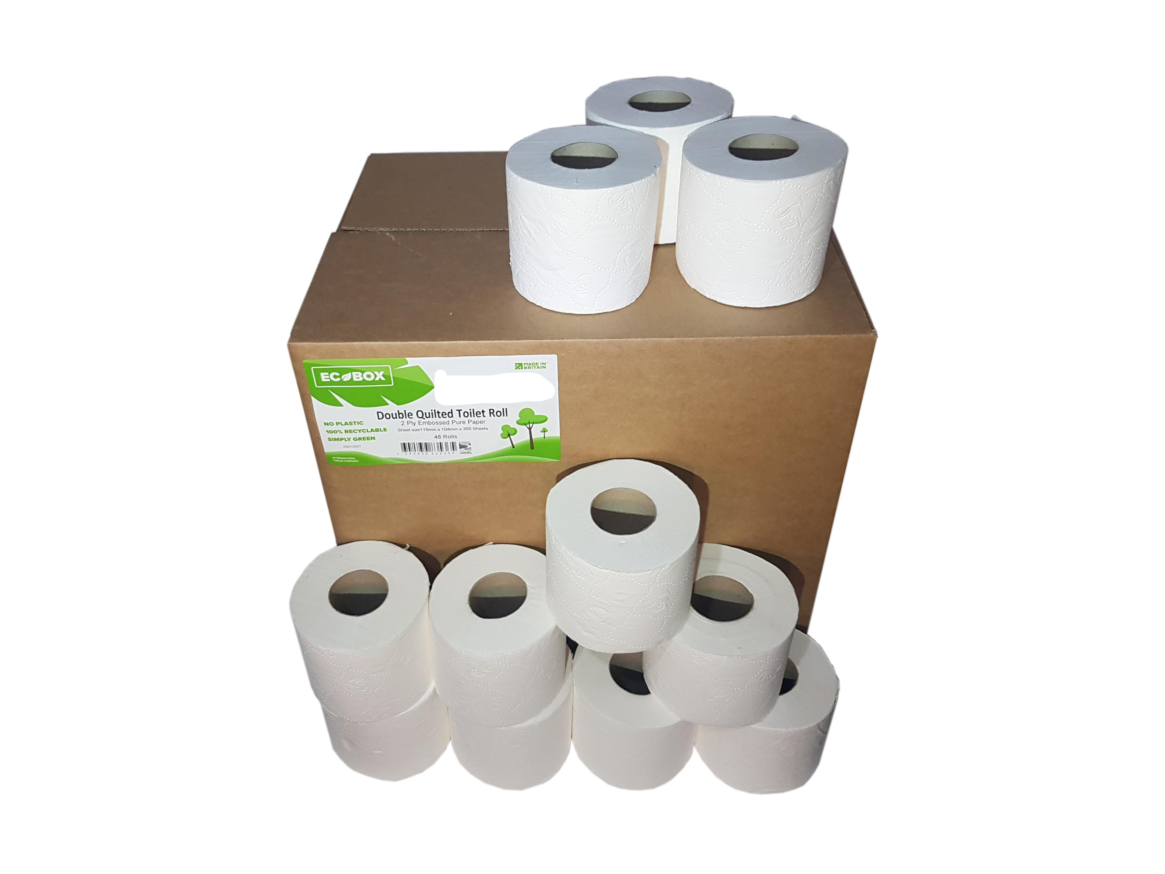 Boxed 450 Sheet x 60 Pure Pulp Toilet Tissue Copy