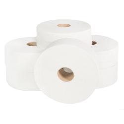 Mini Jumbo Toilet Rolls 150m (60mm Core) Pure Pulp x 24 rolls Copy