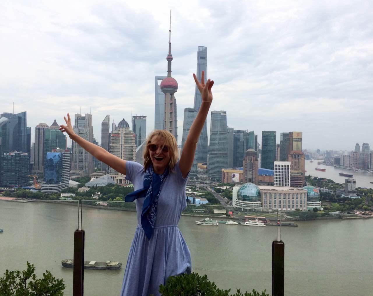 Zoe in Shanghai