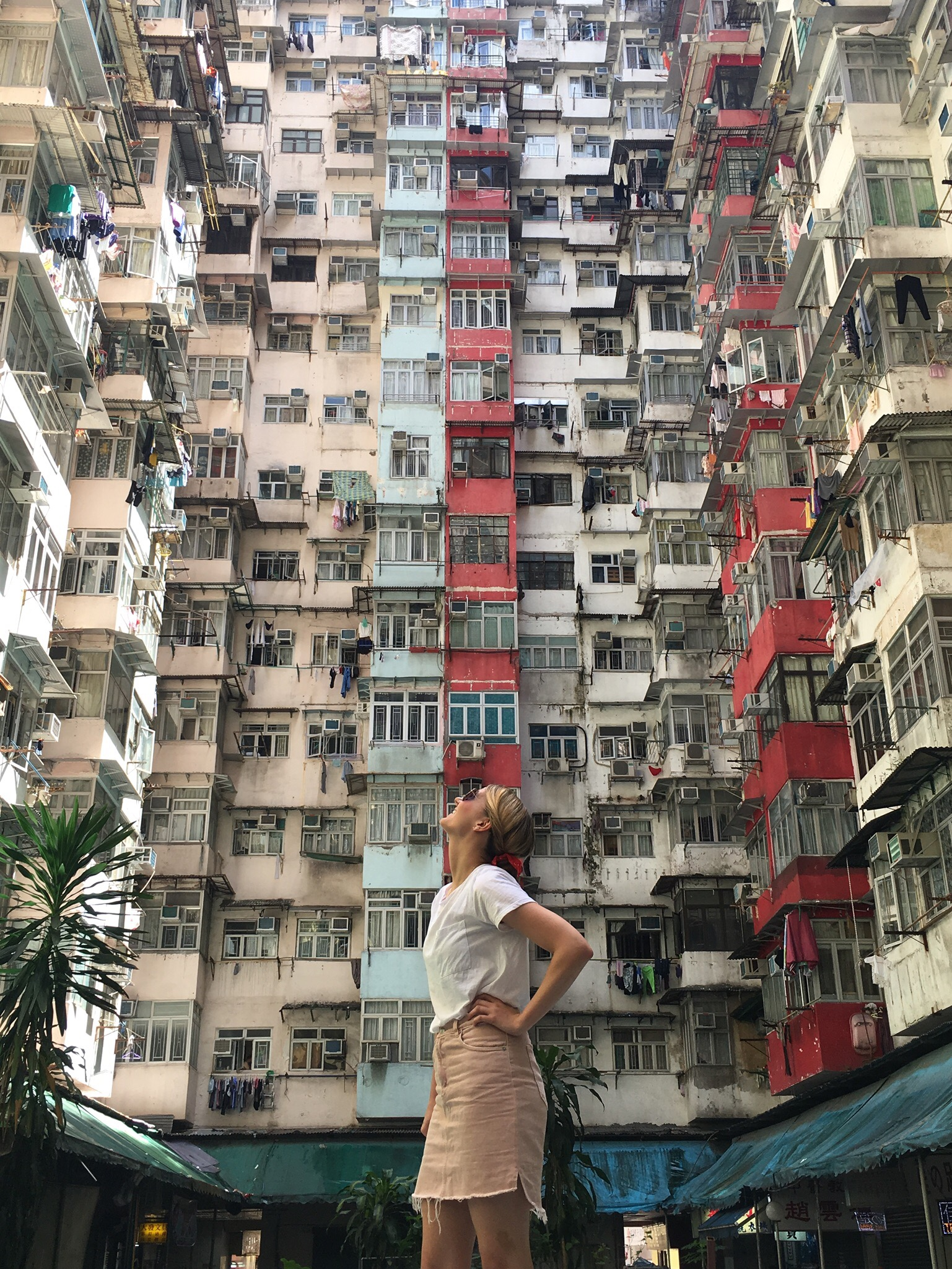 Zoe in Hong Kong