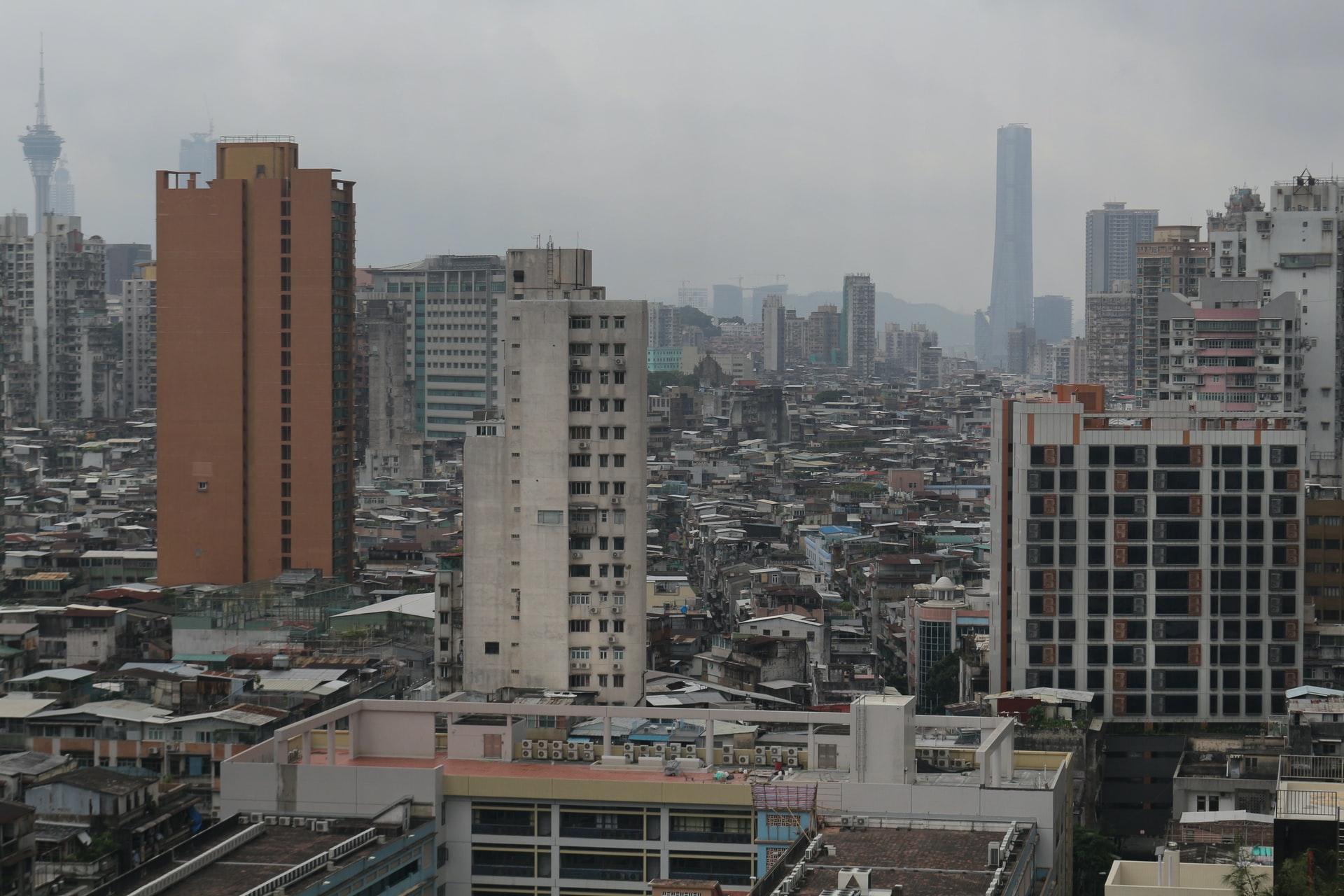 foto de um centro urbano